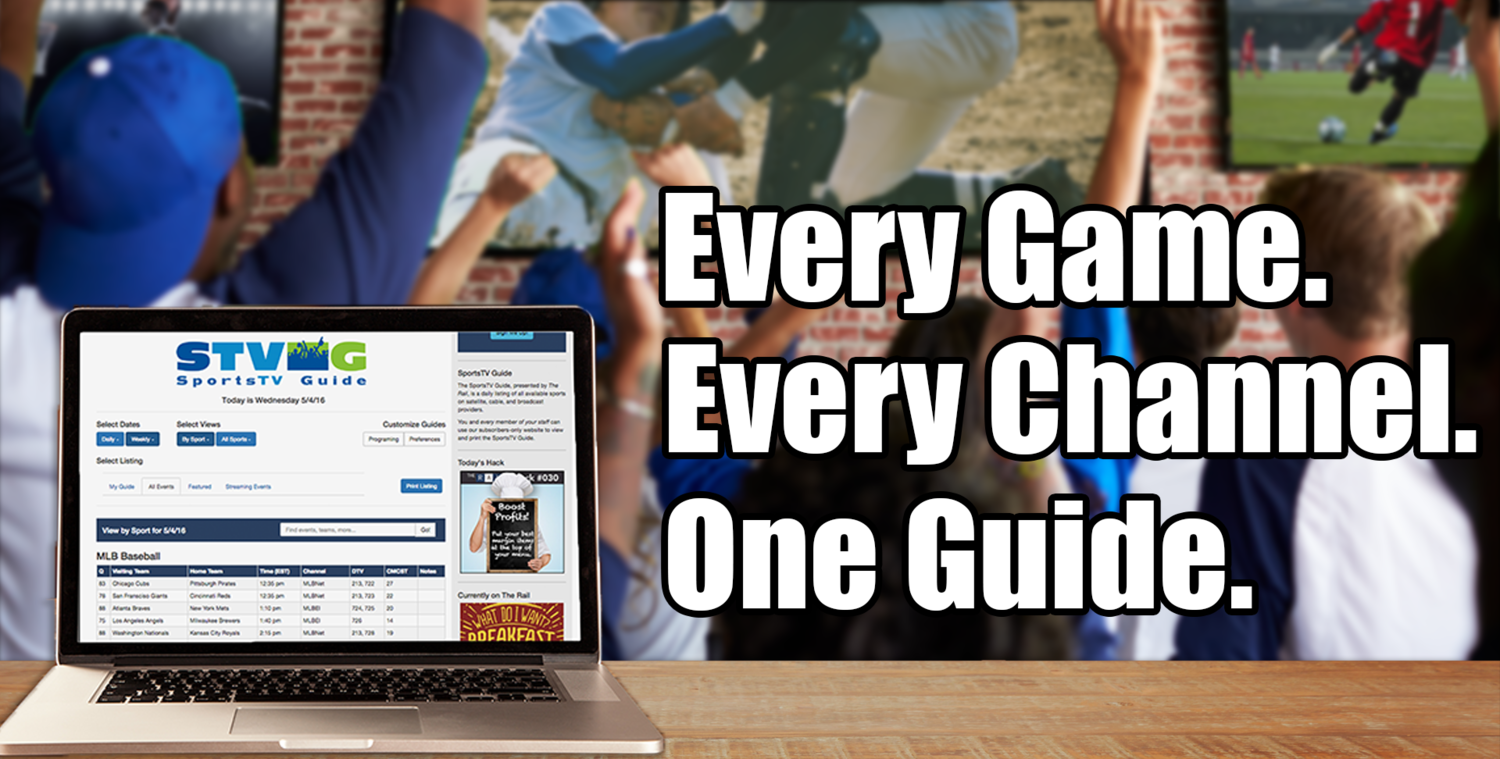 SportsTV Guide Helps Sports Bars