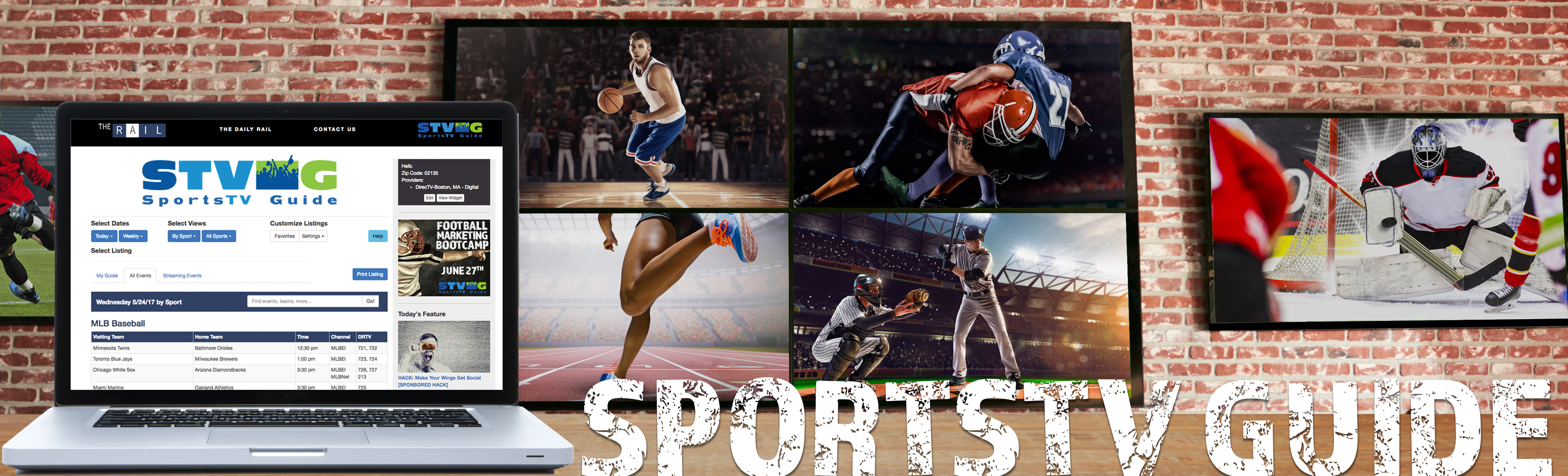 SportsTV Guide Helps Sports Bars Show What's on TV