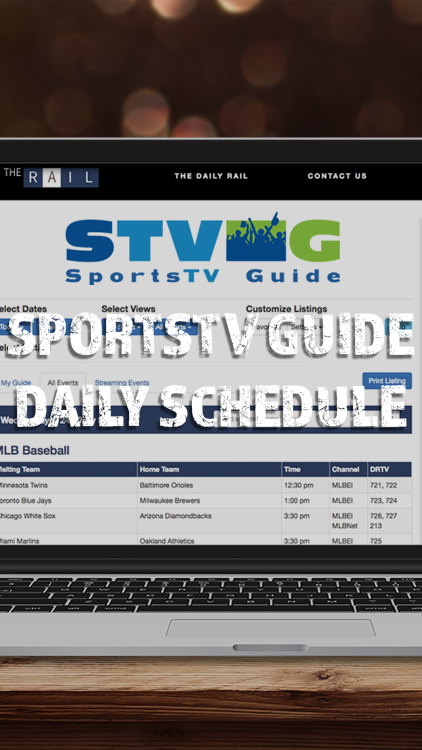 SportsTV Guide Daily Schedule App