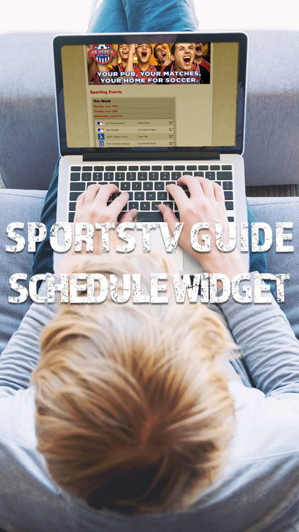 SportsTV Guide Schedule Widget