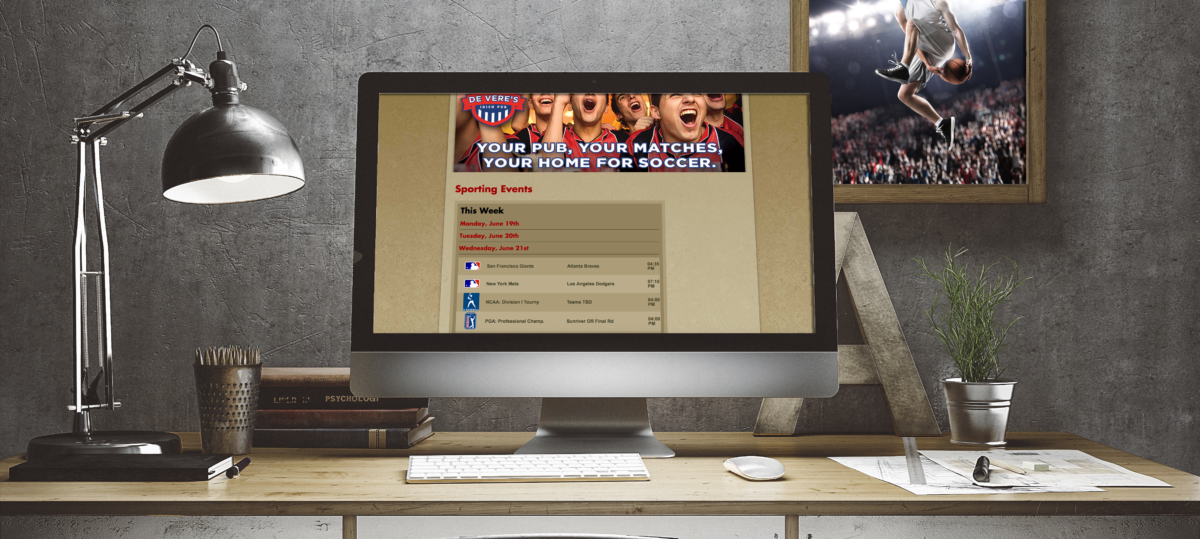 SportsTV Guide Schedule Widget Demo