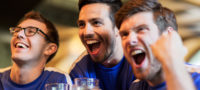 Sports fan reaction videos are perfect for a sports bar marketing plan
